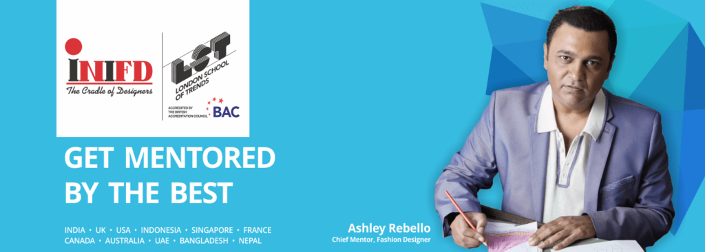 Ashley Rebello Chief Mentor Fashion Design INIFD