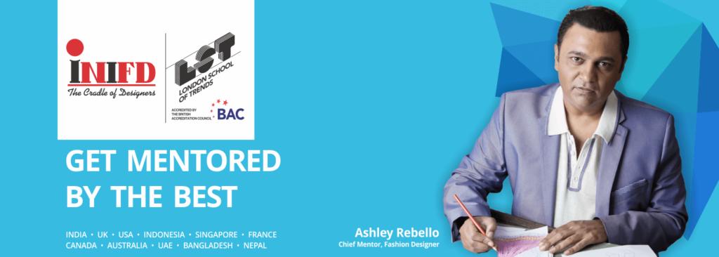 Ashley Rebello Chief Mentor Fashion Design INIFD