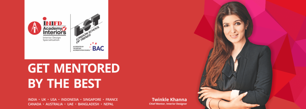Twinkle Khanna Chief Mentor Interior Design INIFD